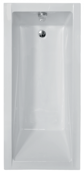 Pachet Complet - Cada Baie Acril Besco Modern 130x70 + Cadru Metalic + Masca Frontala + Masca Laterala + Sifon Evacuare 1