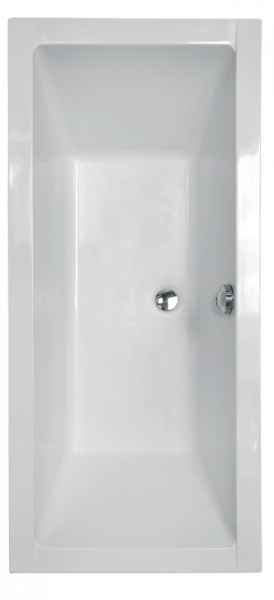 Pachet Complet - Cada Baie Acril Besco Quadro 180x80 + Cadru Metalic + Masca Frontala + Masca Laterala + Sifon Evacuare [1]