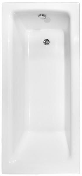 Pachet Complet - Cada Baie Acril Besco Talia 100x70 + Cadru Metalic + Masca Frontala + Masca Laterala + Sifon Evacuare [1]