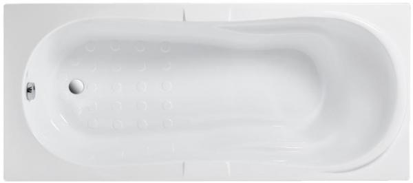 Pachet Complet - Cada Baie Acril Fibrocom Hercules 180x80 + Cadru Metalic + Masca Frontala + Sifon Evacuare 1