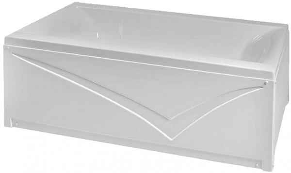 Pachet Complet - Cada Baie Acril Fibrocom Simplis 150x70 + Cadru Metalic + Masca Frontala + Sifon Evacuare 2