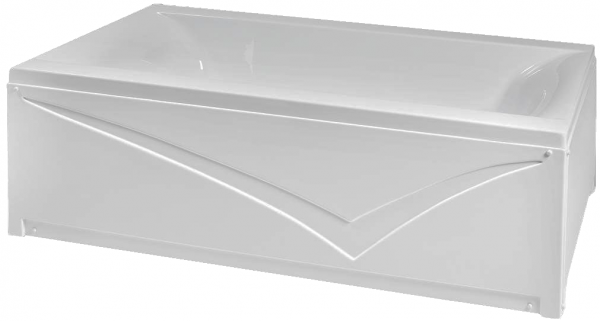 Pachet Complet - Cada Baie Acril Fibrocom Simplis 190x90 + Cadru Metalic + Masca Frontala + Sifon Evacuare 2