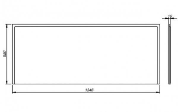 Pachet Complet - Cada Baie Acril Kolo Opal Plus 150x70 + Cadru Metalic + Masca Frontala MDF + Sifon Evacuare 10