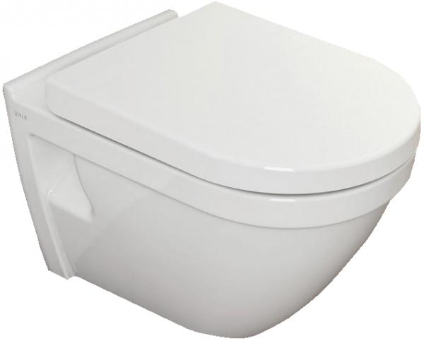 Pachet Complet Sistem WC cu Bideu Suspendat Vitra S50 - Gata de Montaj - Cadru fixare + Rezervor Ingropat, Clapeta Crom, Vas WC cu functie de bideu, Sistem complet baterie incastrata bideu si Capac WC 12