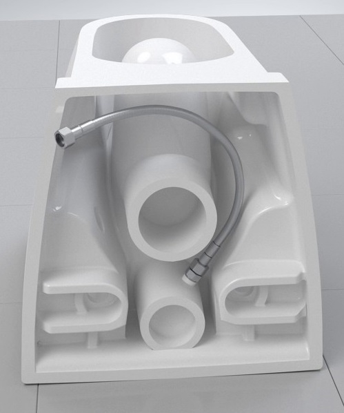 Pachet Complet Sistem WC cu Bideu Suspendat Vitra S50 RimEX - Gata de Montaj - Cadru fixare + Rezervor Ingropat, Clapeta Crom, Vas WC cu functie de bideu, Sistem complet baterie incastrata bideu si Ca 13