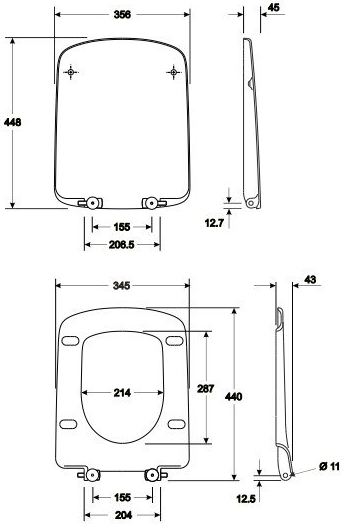 Pachet Complet Sistem WC Suspendat Geberit + Kolo Nova PRO Rimfree - Gata de Montaj - Cadru fixare + Rezervor Ingropat, Clapeta Crom, Vas WC si Capac WC  Softclose 11