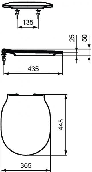 Pachet Complet Sistem WC Suspendat Ideal Standard Connect Air Aquablade - Gata de Montaj - Cadru fixare + Rezervor Ingropat, Clapeta Crom, Vas WC si Capac WC Softclose 12