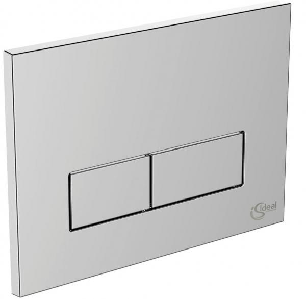Pachet Complet Sistem WC Suspendat Ideal Standard Connect Air Aquablade - Gata de Montaj - Cadru fixare + Rezervor Ingropat, Clapeta Crom, Vas WC si Capac WC Softclose 4