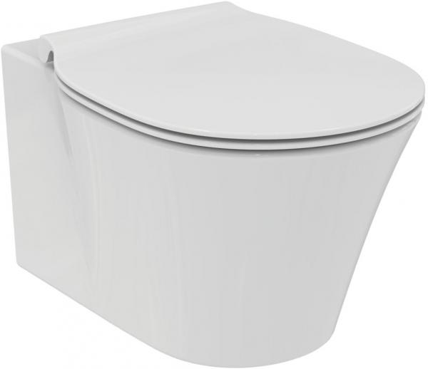 Pachet Complet Sistem WC Suspendat Ideal Standard Connect Air Aquablade - Gata de Montaj - Cadru fixare + Rezervor Ingropat, Clapeta Crom, Vas WC si Capac WC Softclose 3