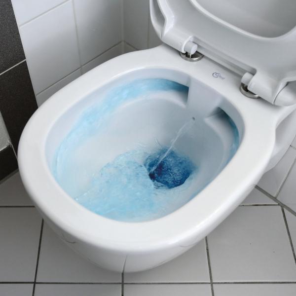 Pachet Complet Sistem WC Suspendat Ideal Standard Connect Rimless - Gata de Montaj - Cadru fixare + Rezervor Ingropat, Clapeta Crom, Vas WC si Capac WC 6
