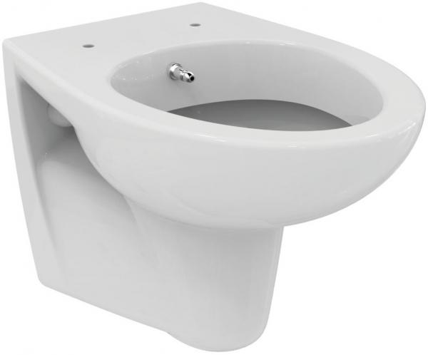 Pachet Complet Sistem WC Suspendat Ideal Standard cu functie de bideu - Gata de Montaj - Cadru fixare + Rezervor Ingropat, Clapeta Crom, Vas WC, Baterie Incastrata si Capac WC 1