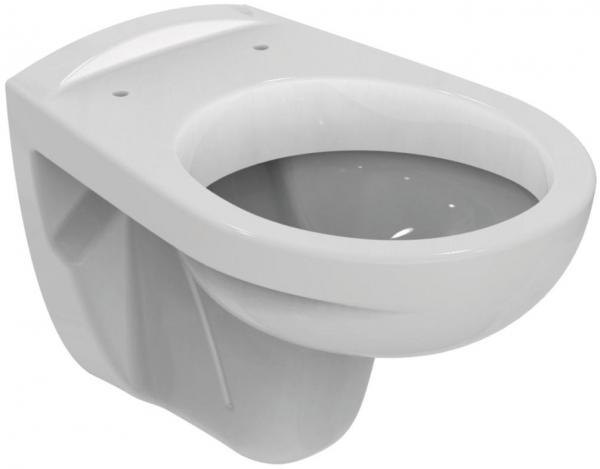 Pachet Complet Sistem WC Suspendat Ideal Standard - Gata de Montaj - Cadru fixare + Rezervor Ingropat, Clapeta Crom, Vas WC si Capac WC [1]