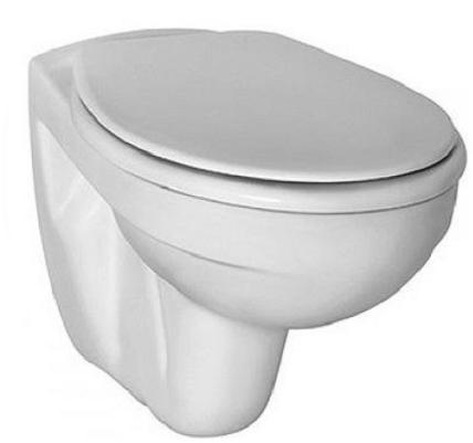 Pachet Complet Sistem WC Suspendat Ideal Standard - Gata de Montaj - Cadru fixare + Rezervor Ingropat, Clapeta Crom, Vas WC si Capac WC [4]