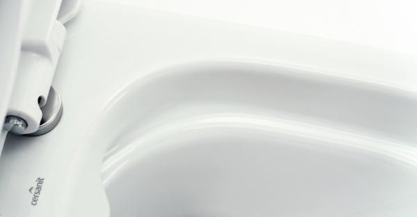 Pachet Complet Toaleta Cersanit Carina CleanON - Vas WC, Rezervor, Armatura, Capac Softclose, Set de Fixare 4