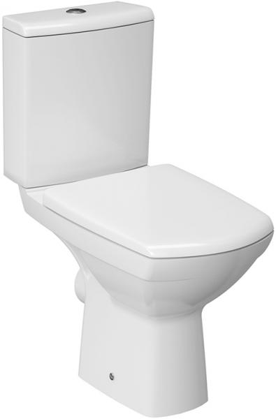 Pachet Complet Toaleta Cersanit Carina CleanON - Vas WC, Rezervor, Armatura, Capac Softclose, Set de Fixare 0
