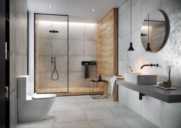 Pachet Complet Toaleta Cersanit Crea Oval - Vas WC, Rezervor, Armatura, Capac Slim & Soft, Set de Fixare 3