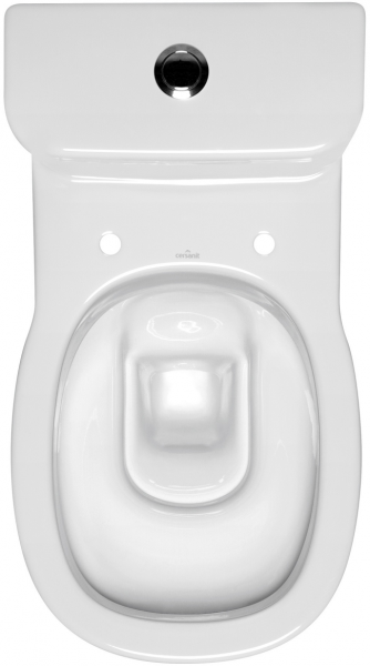 Pachet Complet Toaleta Cersanit Facile - Vas WC, Rezervor, Armatura, Capac, Set de Fixare [1]