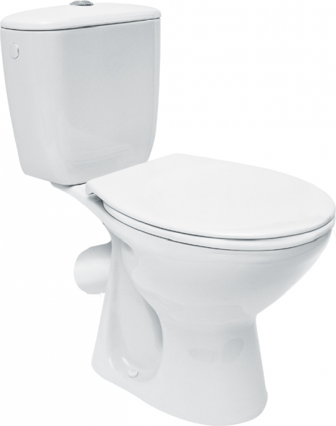 Pachet Complet Toaleta Cersanit President - Vas WC, Rezervor, Armatura, Capac, Set de Fixare - Model 1 [0]