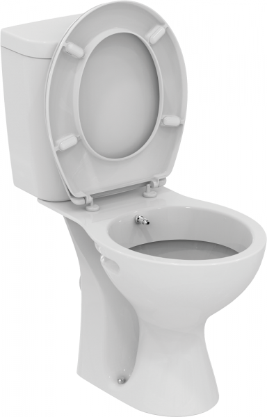 Pachet Complet Toaleta cu functie de bideu Vidima Sevafresh - Vas WC, Rezervor, Armatura, Capac, Set de Fixare 0