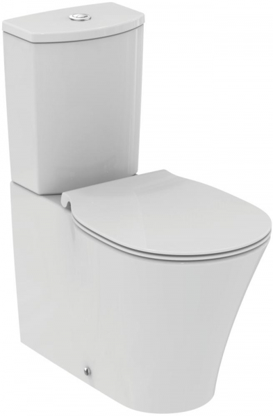 Pachet Complet Toaleta Ideal Standard Connect Air Aquablade Back-to-Wall - Vas WC, Rezervor, Armatura, Capac Slim, Set de Fixare 0
