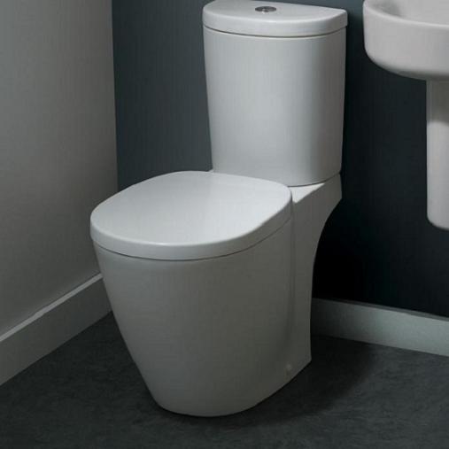 Pachet Complet Toaleta Ideal Standard Connect Arc - Vas WC, Rezervor, Armatura, Capac, Set de Fixare 1