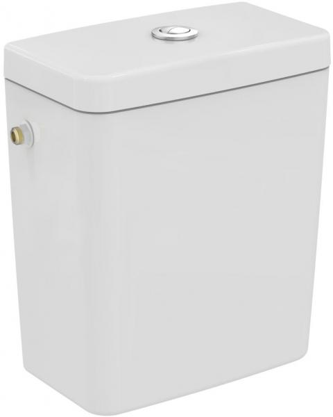 Pachet Complet Toaleta Ideal Standard Connect Back-to-Wall - Vas WC, Rezervor, Armatura, Capac Slim, Set de Fixare [3]