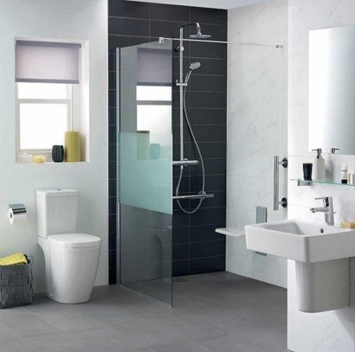 Pachet Complet Toaleta Ideal Standard Connect Cube - Vas WC, Rezervor, Armatura, Capac Softclose, Set de Fixare [2]