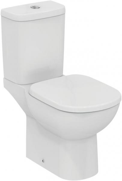 Pachet Complet Toaleta Ideal Standard Tempo - Vas WC, Rezervor, Armatura, Capac, Set de Fixare - Model 1 0