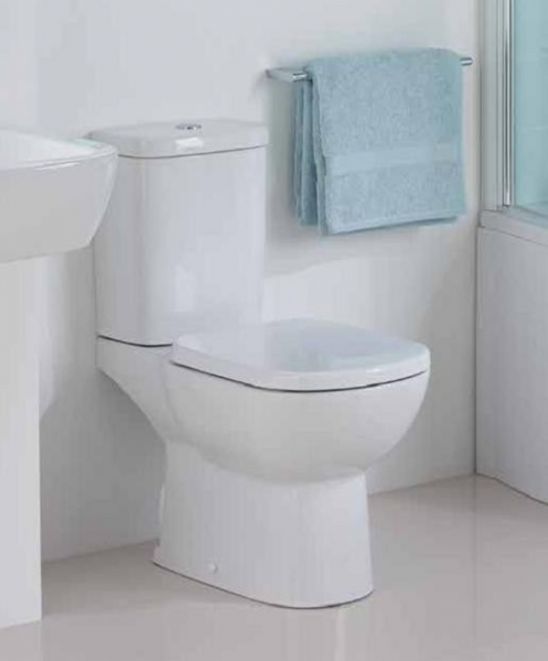 Pachet Complet Toaleta Ideal Standard Tempo - Vas WC, Rezervor, Armatura, Capac, Set de Fixare - Model 2 1