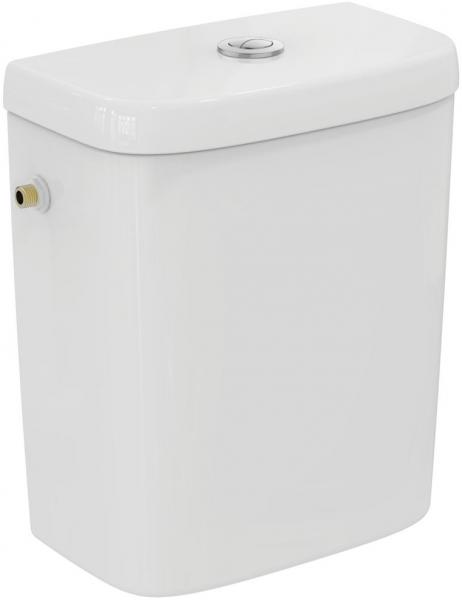 Pachet Complet Toaleta Ideal Standard Tempo - Vas WC, Rezervor, Armatura, Capac, Set de Fixare - Model 2 3