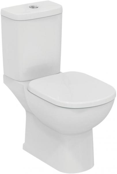 Pachet Complet Toaleta Ideal Standard Tempo - Vas WC, Rezervor, Armatura, Capac, Set de Fixare - Model 2 0