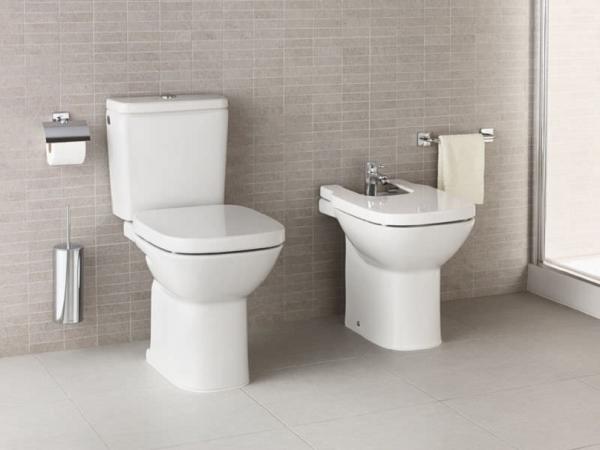 Pachet Complet Toaleta Roca Debba - Vas WC, Rezervor, Armatura, Capac Softclose, Set de Fixare [4]