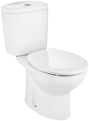 Pachet Complet Toaleta Roca Victoria - Vas WC, Rezervor, Armatura, Capac, Set de Fixare - Model 2 0