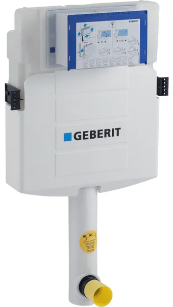 Rezervor incastrat Geberit Sigma UP320 - Pentru vase Back-to-Wall 0