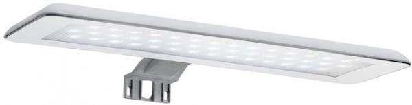 Set complet Roca Debba 600 Compact - Lavoar + Mobilier + Oglinda + Lampa LED + Sifon - Wenge deschis 4