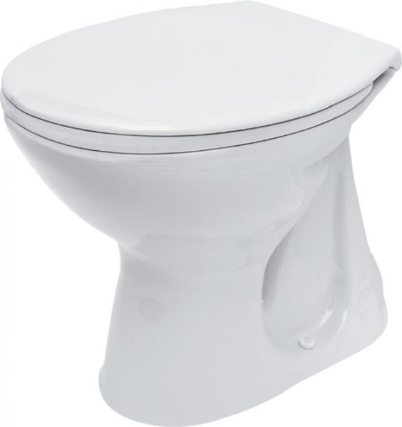Vas WC pe pardoseala Cersanit President - Pentru rezervor la semi-inaltime - Scurgere in pardoseala [3]