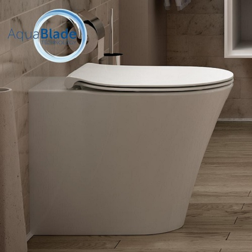 Vas WC pe pardoseala Ideal Standard Connect Air Aquablade - Back-to-Wall - Pentru rezervor incastrat 1