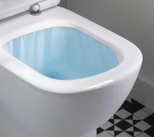 Vas WC pe pardoseala Ideal Standard Connect Aquablade - Back-to-Wall - Pentru rezervor incastrat 5