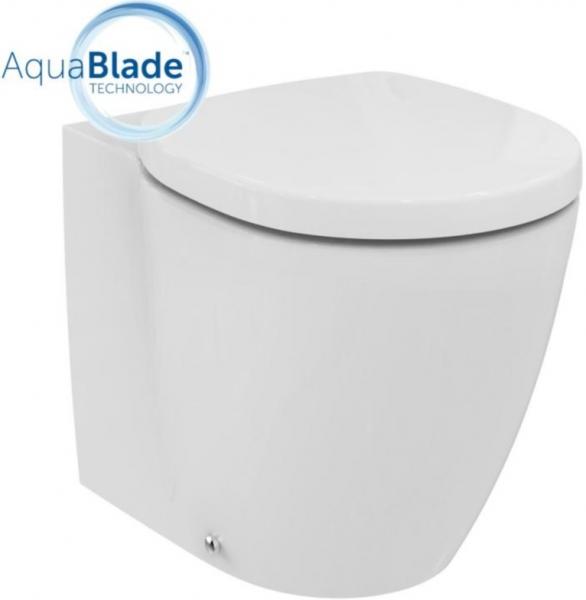 Vas WC pe pardoseala Ideal Standard Connect Aquablade - Back-to-Wall - Pentru rezervor incastrat 2