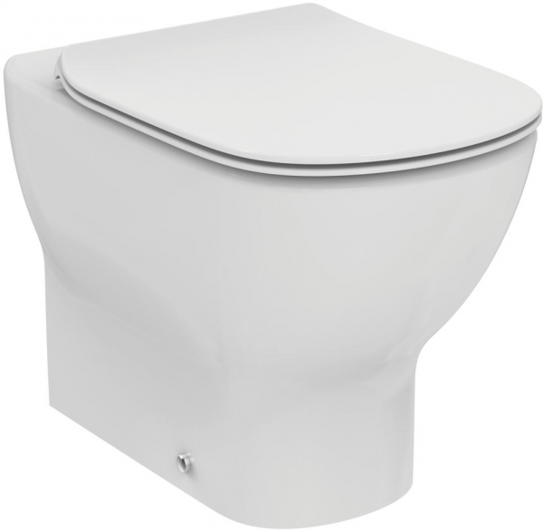 Vas WC pe pardoseala Ideal Standard Tesi Aquablade - Back-to-Wall - Pentru rezervor incastrat 0