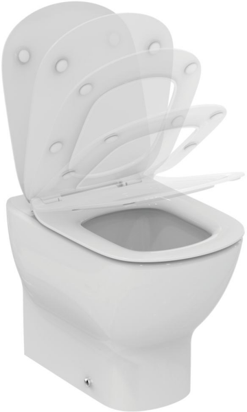 Vas WC pe pardoseala Ideal Standard Tesi Aquablade - Back-to-Wall - Pentru rezervor incastrat 3