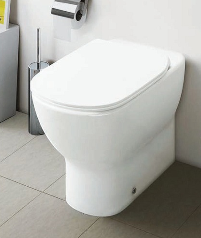 Vas WC pe pardoseala Ideal Standard Tesi Aquablade - Back-to-Wall - Pentru rezervor incastrat 6