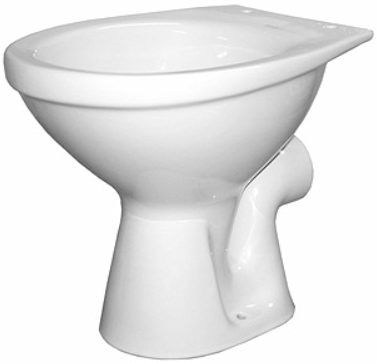 Vas WC pe pardoseala Kolo Idol - Pentru rezervor la semi-inaltime - Scurgere laterala 0