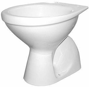 Vas WC pe pardoseala Kolo Idol - Pentru rezervor la semi-inaltime - Scurgere pardoseala 0