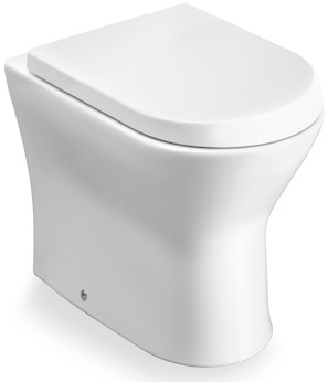 Vas WC pe pardoseala Roca Nexo - Back-to-Wall - Pentru rezervor incastrat 0