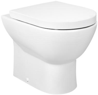 Vas WC pe pardoseala Roca Tipo Compact - Back-to-Wall - Pentru rezervor incastrat 0