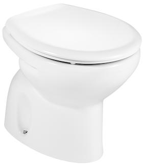 Vas WC pe pardoseala Roca Victoria - Pentru rezervor la semi-inaltime -  Scurgere in pardoseala 0