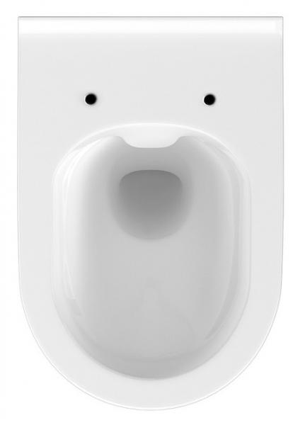 Vas WC Suspendat Cersanit Crea Oval - CleanON [1]