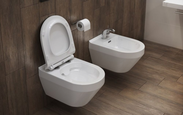 Vas WC Suspendat Cersanit Crea Oval - CleanON 4
