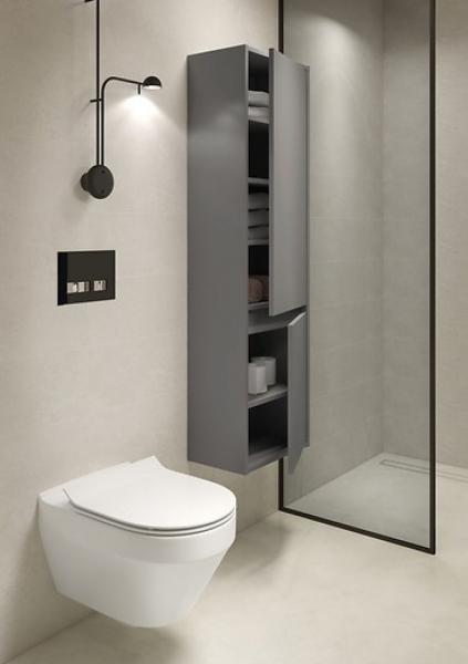 Vas WC Suspendat Cersanit Crea Oval - CleanON [14]